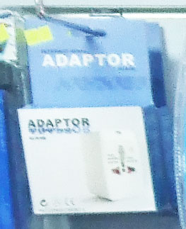 Foreign power adapter